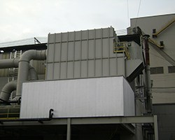 Industrial Ventilation Baghouse - ACIPCO